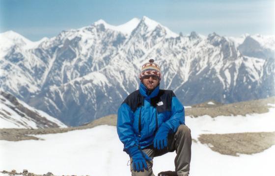 על הפס, בטרק הארונד-אנפורנה, נפאל.
