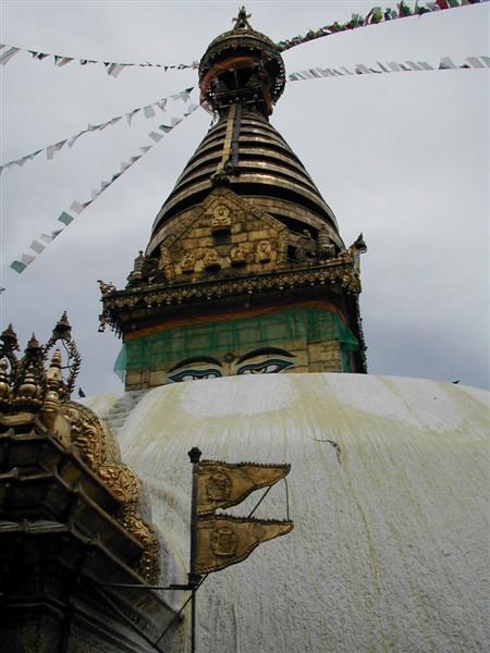 מקדש הקופים, קטמנדו, נפאל.