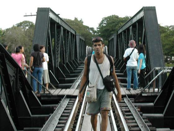 גשר הקוואי, קנצ'נבורי, תאילנד.