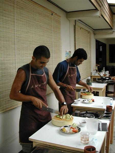 קורס בישול, צ'אן-מאי, תאילנד.