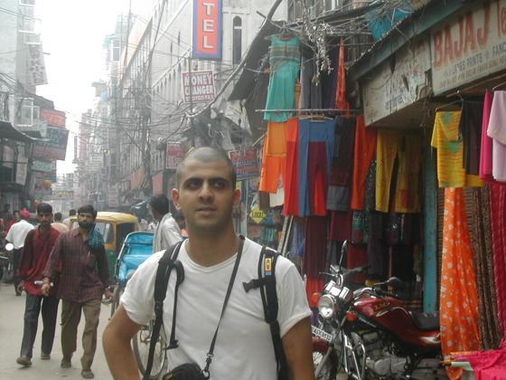 רחובות דלהי, הודו.