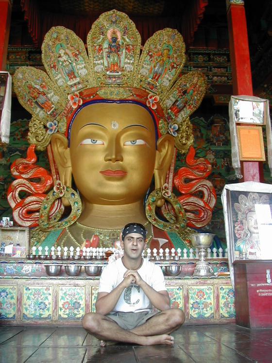 בודהה, מקדש השי, לאדק, הודו.