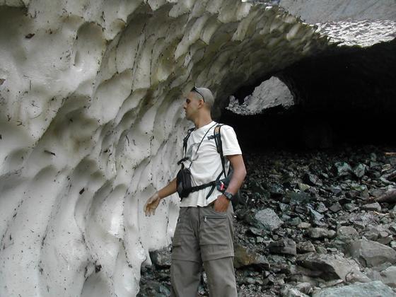 קרחון, קשמיר, הודו.