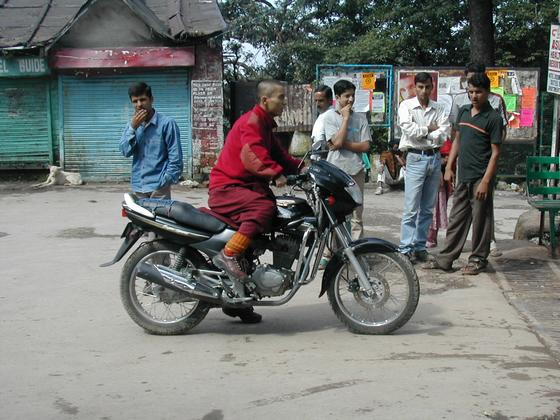 טיבטים, דרמסלה, הודו.