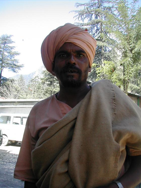 מקומי, עמק פרווטי, הודו.