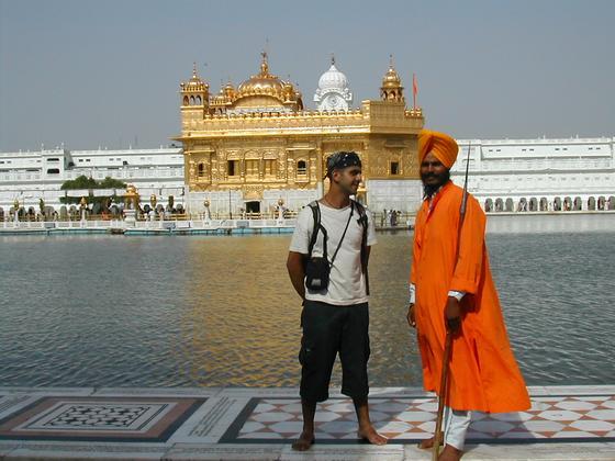 מקדש הזהב, אמריצר, הודו.