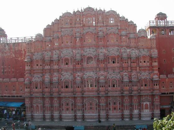 ארמון הרוחות, רג'סטאן, הודו.