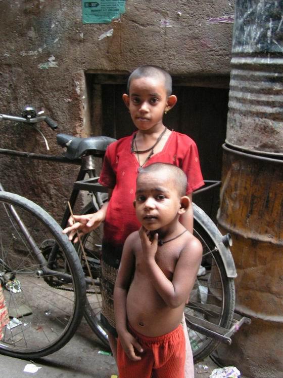 ילדים, דלהי,  הודו.