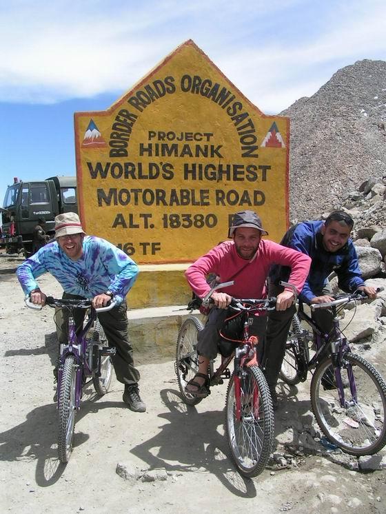 טיול אופניים, לאדק, הודו.