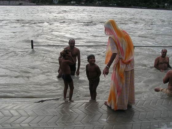 הגנגס ברישיקש, הודו.