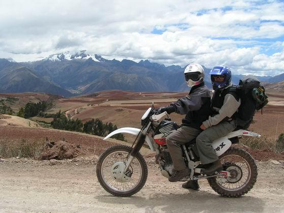 טיול אופנועים, קוסקו, פרו.