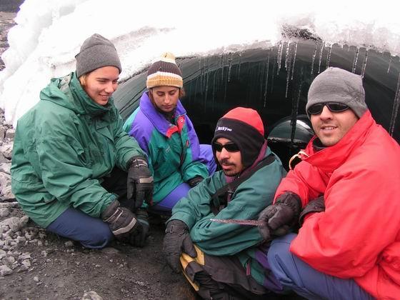 מערות קרח, הווארז, פרו.