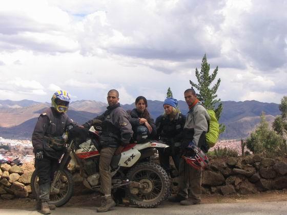 טיול אופנועים , קוסקו, פרו.