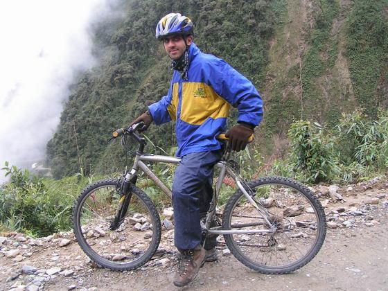 דרך המוות באופניים, בולביה.
