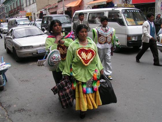 צ'ולות בלה-פז, בוליביה.