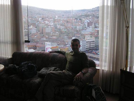 לה פז מחלון חדרנו במלון