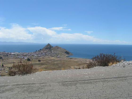 אגם טיטיקקה בדרך ללה-פז