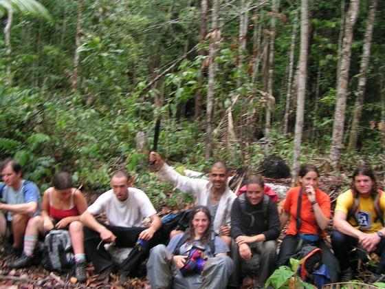 בג'ונגל בקניון הינשופים, בוליביה.