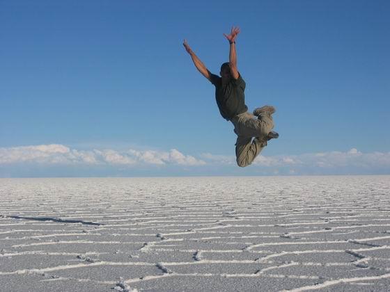 מרחבים אין סופיים של מלח, הסלאר, בולביה.