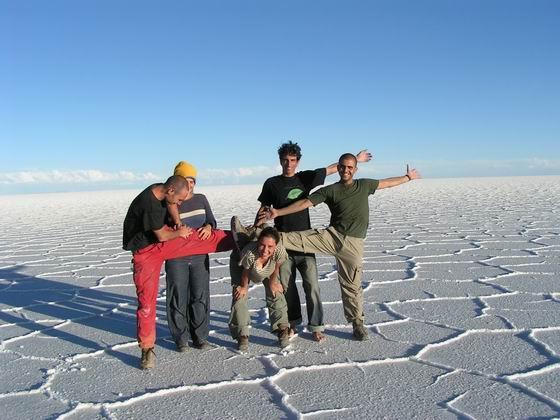 להקת הסלאר, בוליביה.
