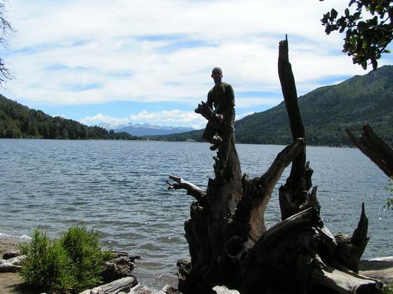 איזור האגמים, ברילוצ'ה, ארגנטינה.