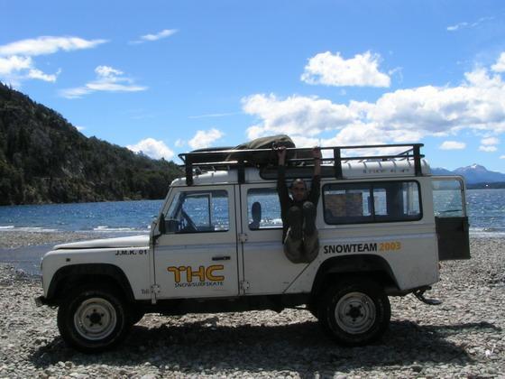 טיול ג'יפים עם חורחה, ברילוצ'ה, ארגנטינה.
