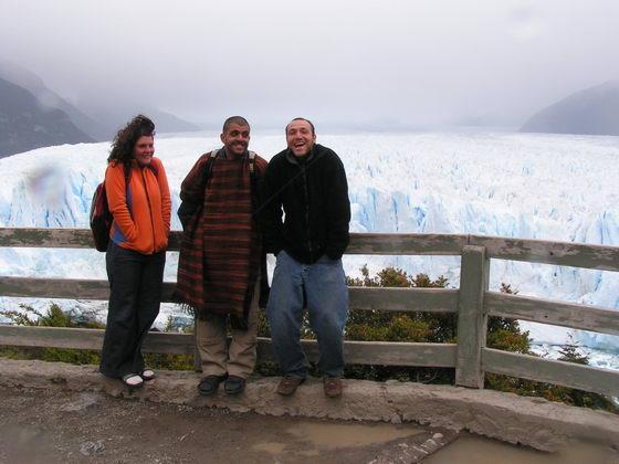 הקרחון המתנפץ, פטגוניה, ארגנטינה.