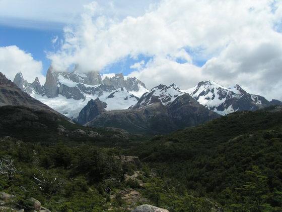 טרק הפיץ רוי, פטגוניה, ארגנטינה.