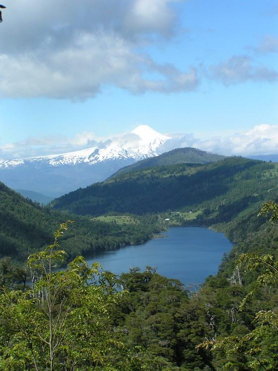 איזור האגמים, צ'ילה.