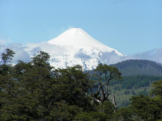 הר הגעש ואריקה סמוך לפוקון, צ'ילה.