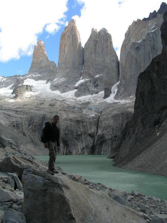 טרק הטורוסים, פטגוניה, צ'ילה.