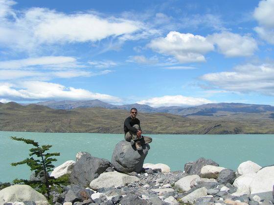 לגונות בטרק הטורוסים, פתגוניה צ'ילה.