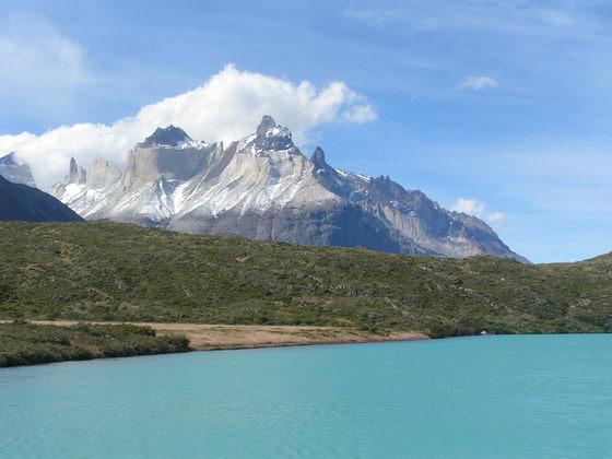 טרק Torres del Paine, צ'ילה.