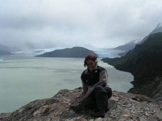 קרחון גריי בטרק הטורוסים, פתגוניה צ'ילה.