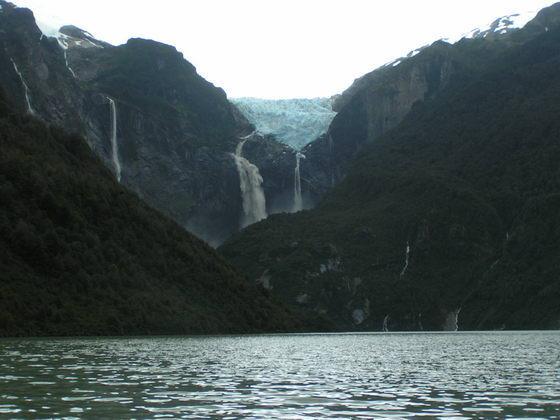 הקרחון התלוי, צ'ילה.