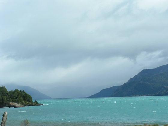 Puerto Tranquilo הקרטרה אוסטרל, צ'ילה.