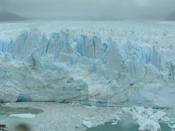 קרחון מורנו האדיר, פתגוניה, ארגנטינה.