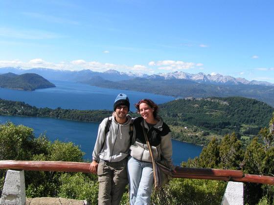 אזור האגמים ליד ברילוצ'ה, פטגוניה, ארגנטינה.