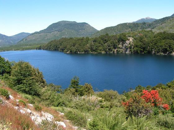 איזור האגמים, ארגנטינה.