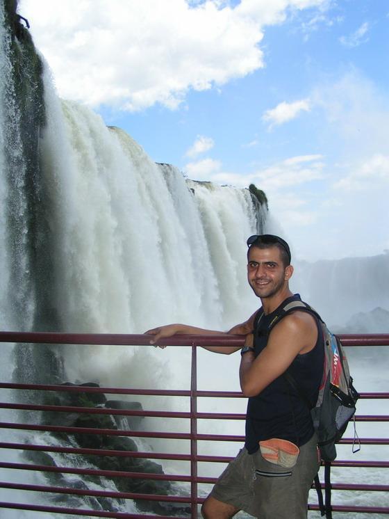 מפלי האיגואסו הצד הברזילאי.