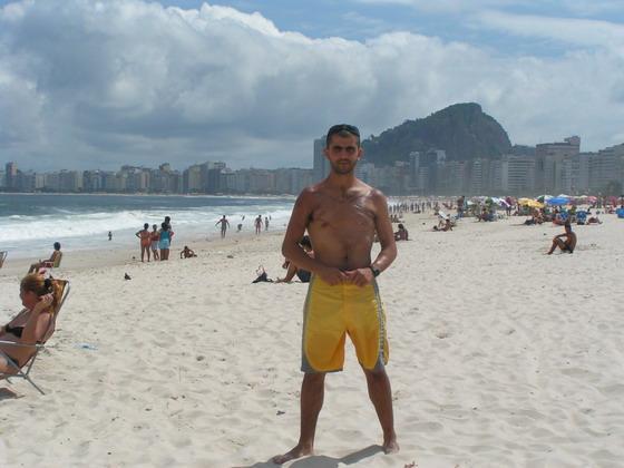 חוף קופה-קבנה, ריו דה ז'נרו, ברזיל.