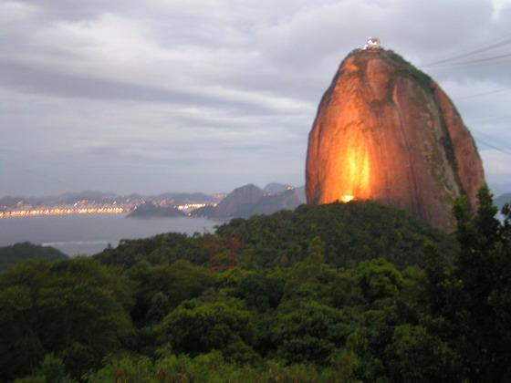 הר הסוכר, ריו דה ז'נרו, ברזיל.