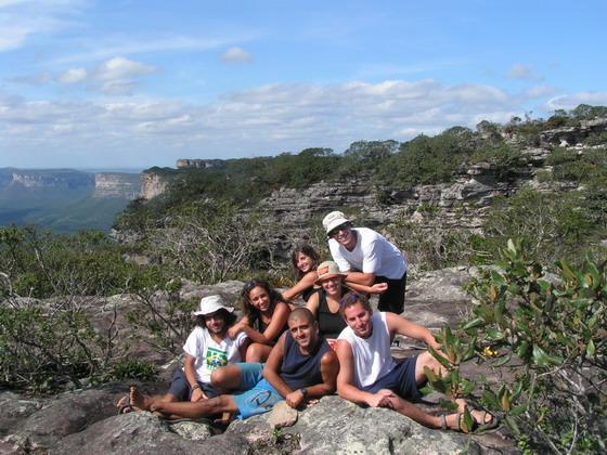 טיול יום באזור לנסויס, ברזיל