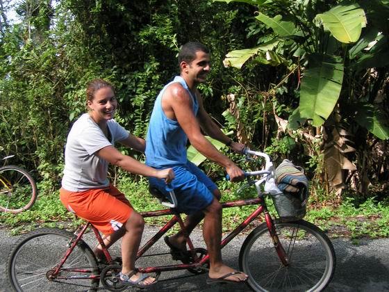 טיול אופניים,  פוארטו ויאחו PUERTO VIEJO