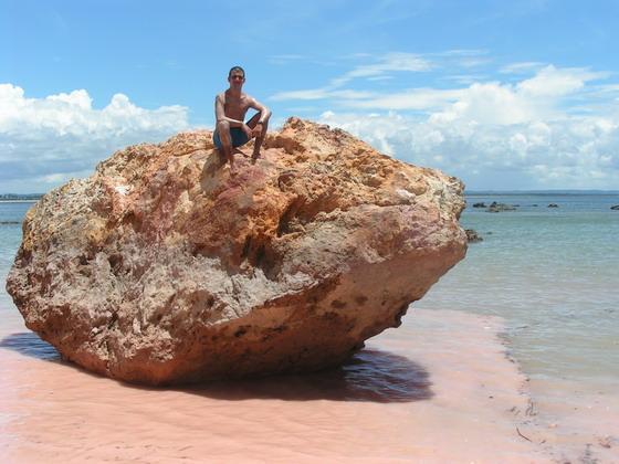 החוף הוורוד, ברזיל.