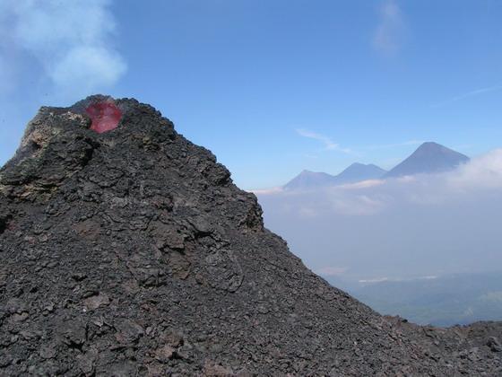 הר הגעש פקיה, גואטמלה.