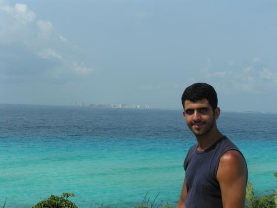 החוף הקריבי, קנקון, מקסיקו.