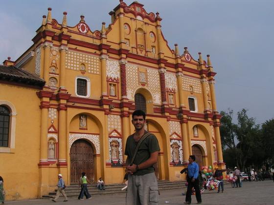הקתדרלה הראשית בסאן קריסטובל, מקסיקו.