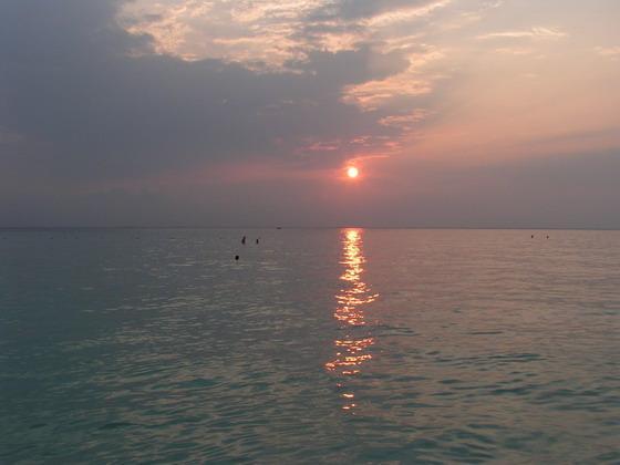 שקיעה באי איסלה מוחרס