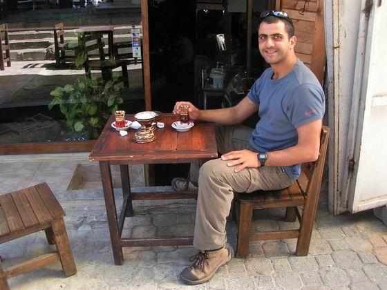כוס תה, איסטנבול, טורקיה.